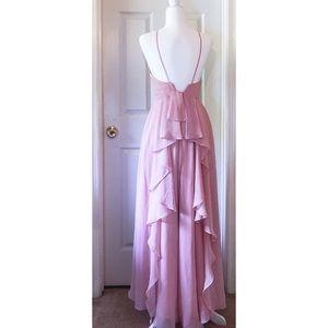 ❗️SALE❗️Weddington Way Blush Pink Maxi Dress Sz 0